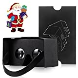 Kollea Google Cardboard V2.0 3D Glasses Virtual Reality DIY Kit - More Comfortable and Clearer