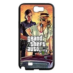 Samsung Galaxy Note 2 N7100 Phone Case With Grand Theft Auto U8I53112
