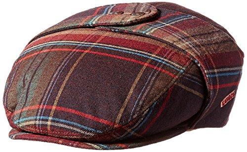Kangol Men's Tweed Bugatti Cap, Turin Plaid, XL ()