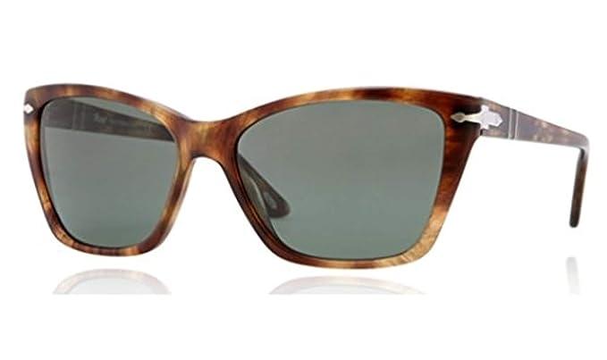 Persol Gafas de Sol Mod. 3023S-979/31 Havana 56 mm: Amazon ...
