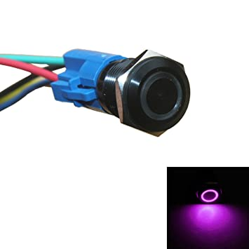 51UsMJjIc2L._SY355_ amazon com e support™ 16mm 12v 3a car purple led light  at edmiracle.co