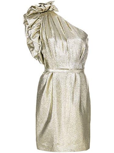 Stella McCartney Women's 503180Ska038001 Gold Polyester Dress by Stella McCartney
