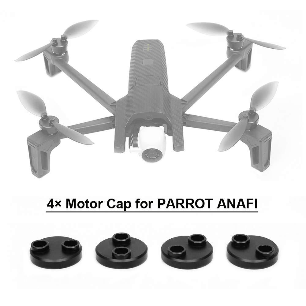 flycoo 4 Pz tappo di motore per Parrot Anafi drone protezione accessorio antipolvere antiurto impermeabile CNC lega alluminio