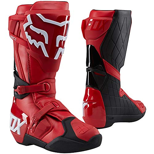 Fox Racing 180 Men's Off-Road Motorcycle Boots - Red / 14
