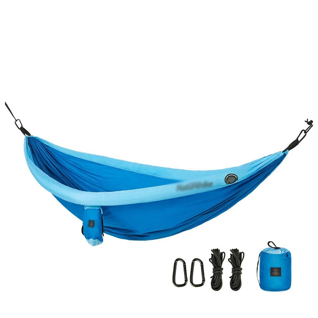正規品販売! スイング ハンモック屋外屋内ホームスリーピングスイングシングルダブルハンギングチェアキャンプハンギングベッドスイングポータブル スイングスーツ (Color スイング : : Orange, サイズ Blue : 240*173cm) B07R6S9KJL Blue 240*173cm 240*173cm|Blue, 生地の森(ファブリッククロス):53262ada --- a-school-a-park.ca