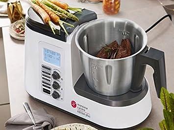 SILVERCREST Robot de Cocina Monsieur Cuisine Edition Plus SKMK 1200 A1: Amazon.es