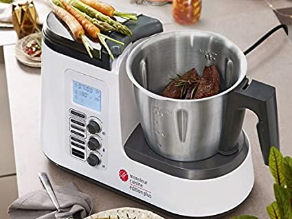 SILVERCREST Robot de Cocina Monsieur Cuisine Edition Plus SKMK 1200 A1: Amazon.es
