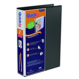 QuickFit Deluxe 2-Inch Legal View Binder, 14\