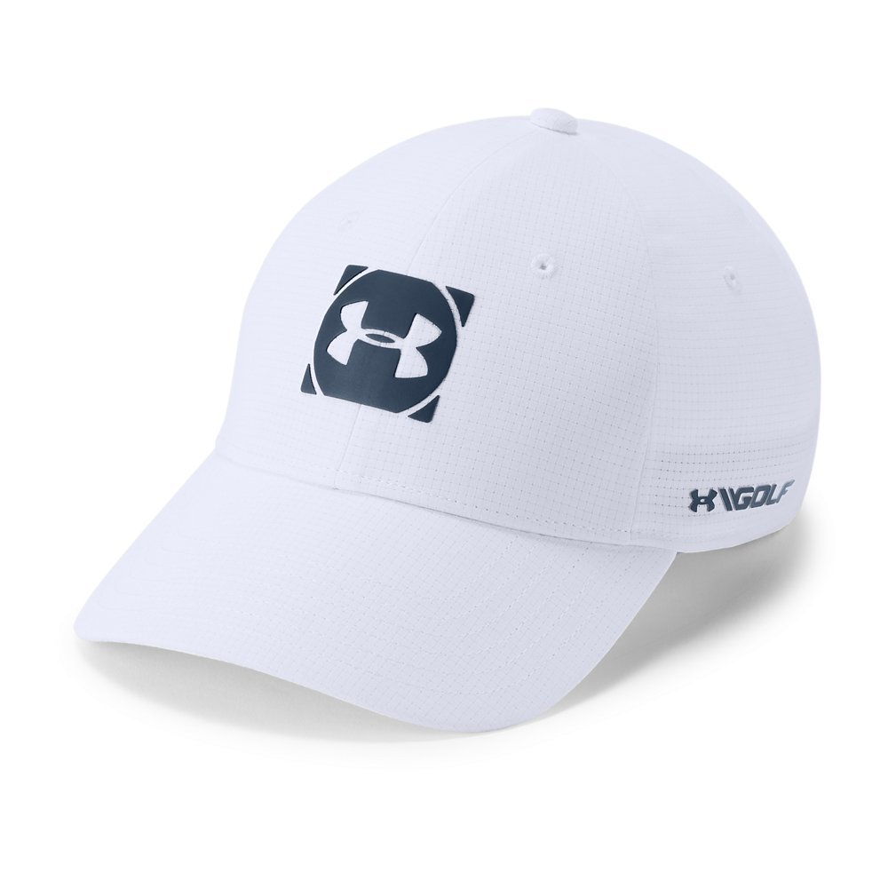 Under Armour Jordan Spieth UA Tour Cap M/L White: Amazon.es ...