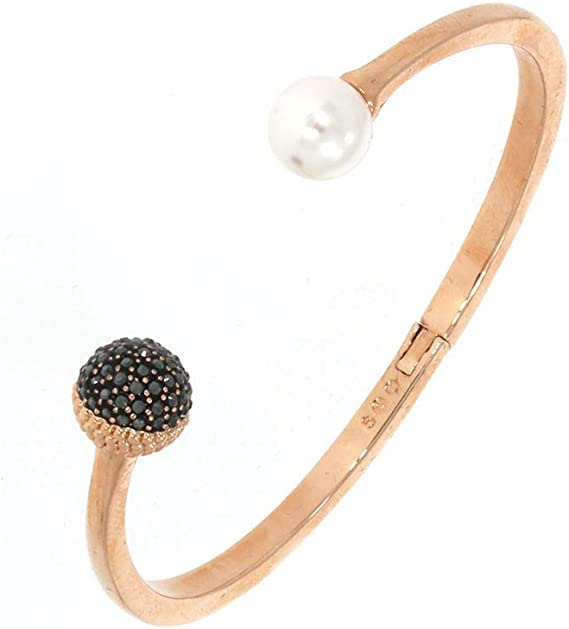 Swarovski Bracelet-jonc Lollypop Perle M: Amazon.fr: Vêtements et ...