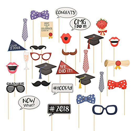 Best Maxdot 2018 Graduation Party Banner Graduate Cap Banner