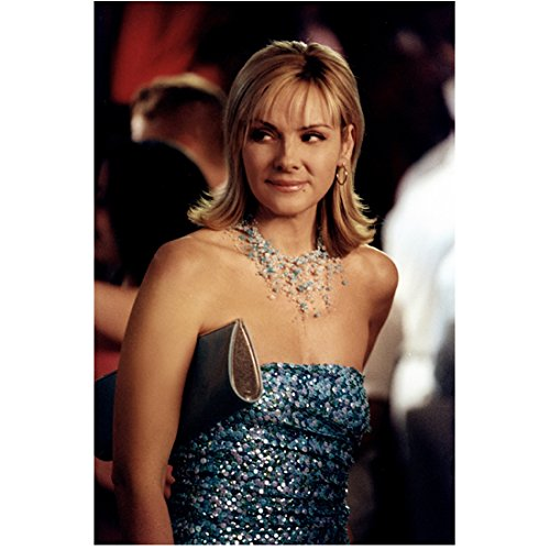 Sex and the City Kim Cattrall as Samantha Jones at Party 8 x 10 Inch Photo -