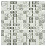 Academy Light Grey 11 3/4 x 11 3/4 Inch Porcelain Floor & Wall Tile (10 Pcs/9.62 Sq. Ft. Per Case, $1 Standard Shipping) by SOMERTILE