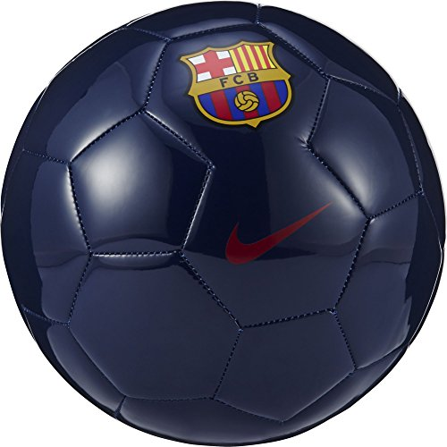 Nike FC Barcelona Supporters Ball [MIDNIGHT NAVY] (5) (Messi Signed Ball)