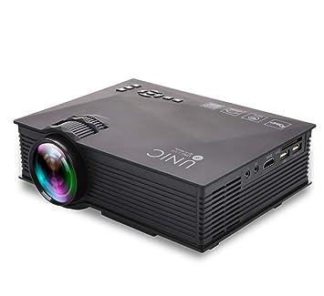 FULANTE Proyector, Mini LED portátil Mini proyector Pico ...
