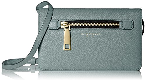- Marc Jacobs Gotham Wallet On Leather Strap, Dolphin Blue