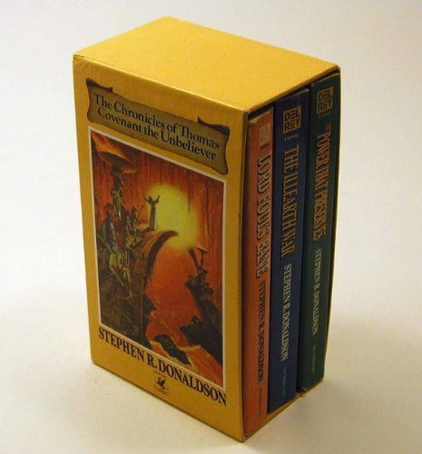 The Chronicles of Thomas Covenant, the Unbeliever (Boxed Set of Three) Lord Foul's Bane, The Illearth War, & The Power That Preserves