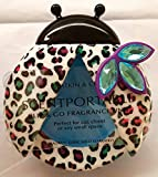 Bath & Body Works Scentportable Holder Visor Clip Turquoise Gem Ladybug White Purple Animal Print