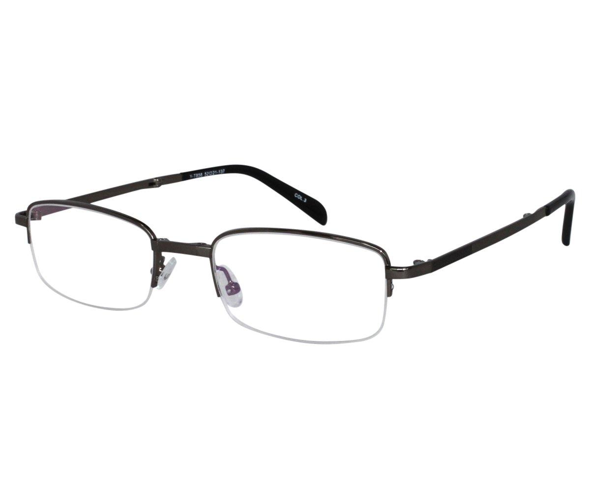 247065838959 Amazon.com  EyeBuyExpress Reading Glasses Mens Womens Rectangular Folding Half  Rim Grey Anti Glare  Health   Personal Care