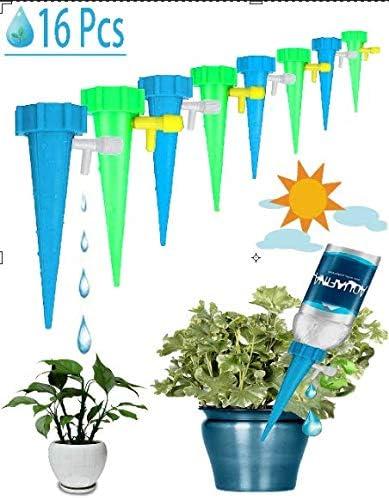 Automatisch Bew/ässerung Set,Bew/ässerungssystem,15 instellbar Bew/ässerungssystem Garten zur Pflanzen Einstellbar Blumen Bew/ässerung-Spikes Zimmerpflanze Bew/ässerung Ideal Wasserversorgung W/ährend