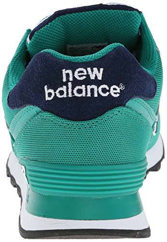 888546365933 - New Balance Men's ML574 Pique Polo Pack Classic Running Shoe, Green, 7 D US carousel main 1