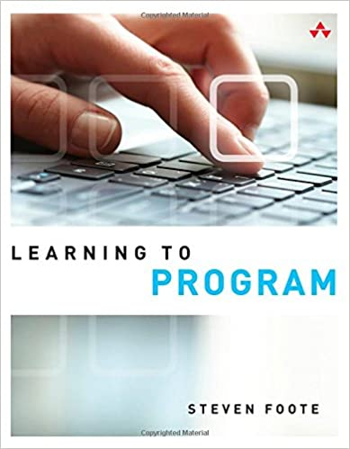 Learning to Program Book Cover