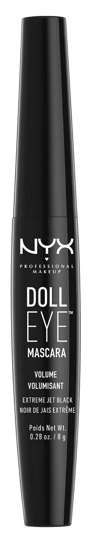 505164249cb Amazon.com: NYX Professional Makeup Doll Eye Mascara, Extreme Black,  Volume, DE02, 0.28 oz: Beauty
