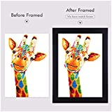 Diamond Dots Bead Art for Adults Colorful Rainstone Diamond Kits Color Giraffe