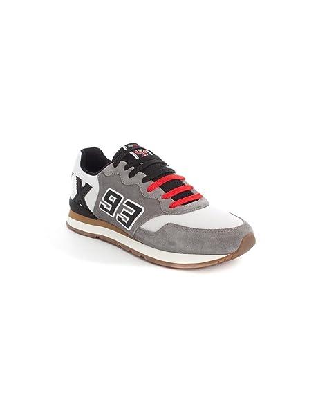 Zapatillas Munich Racer Marc Marquez Gris 45 Gris: Amazon.es: Zapatos y complementos