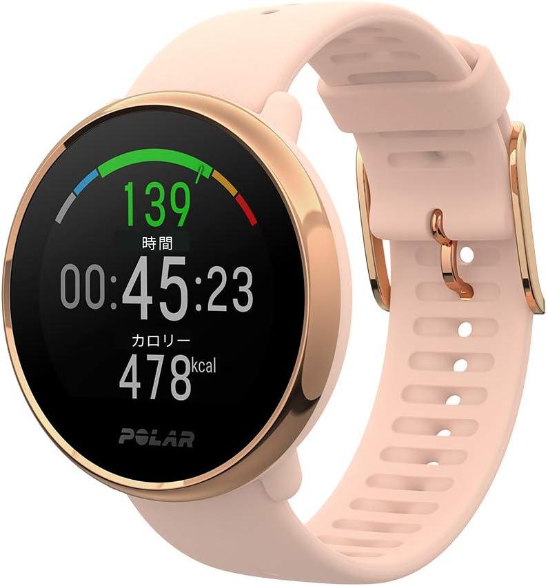POLAR(ポラール) POLAR IGNITE ピンク・ローズゴールド S GPS フィットネス ウォッチ 心拍 活動量計 睡眠 【日本正規品】90079898