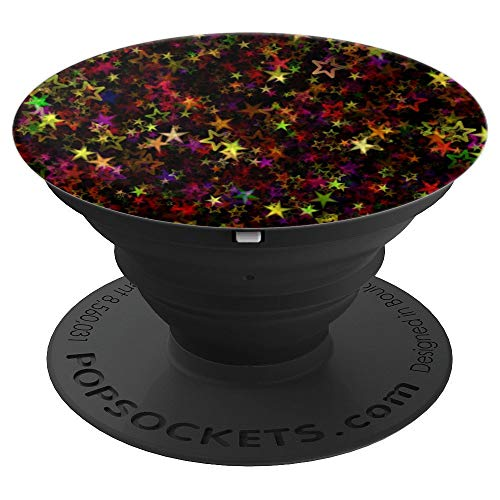 Amazing Christmas Star Advent Bright Colors Gift Accessory - PopSockets Grip and Stand for Phones and Tablets -