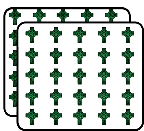 - Celtic Cross Green Sticker for Scrapbooking, Calendars, Arts, Kids DIY Crafts, Album, Bullet Journals 50 Pack