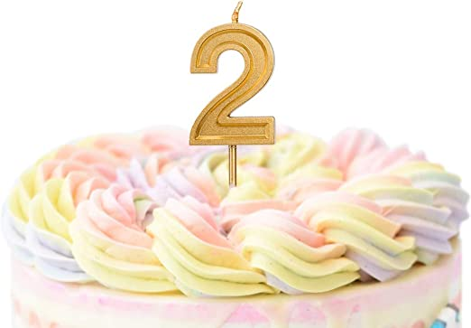 3 Silver Unique Events Birthday Celebration Party Supplies Numeral #0 Sliver Glitter Candle