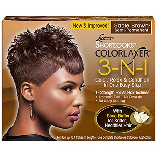Luster's Shortlooks Color Relaxer 3-n-1 ()