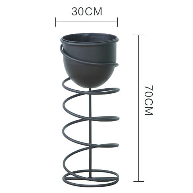HPYR La Escalera de Caracol de diseño Flower Stands Plant Display ...