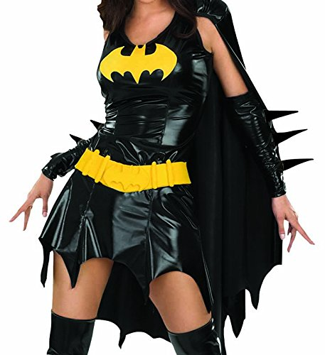 sc 1 st  Amazon.com & Amazon.com: DC Comics Deluxe Batgirl Adult Costume: Clothing