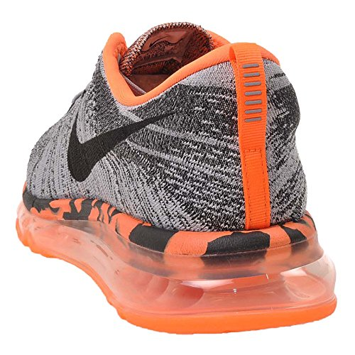wholesale dealer a4293 cf61a ... Nike Flyknit Max Premium Mens Scarpe Da Corsa 747361-008 Grigio Lupo    Nero ...
