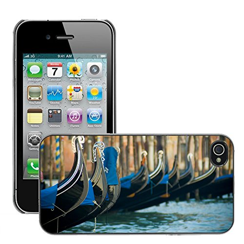 Premio Sottile Slim Cassa Custodia Case Cover Shell // V00002681 Venise // Apple iPhone 4 4S 4G