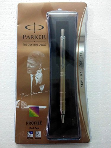 - Parker Profile Ball Pen Ballpoint Pen Copper Brand New Sealed Original Blue ink