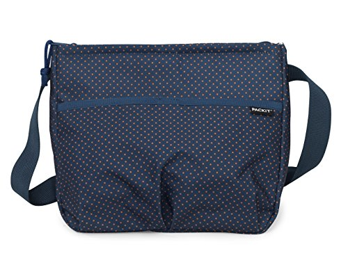 PackIt Freezable Carryall Lunch Bag, Micro (Microdot Design)