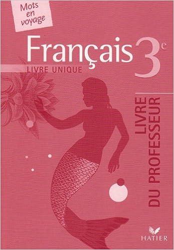 Rechercher Un Livre Electronique Francais 3e Livre Unique