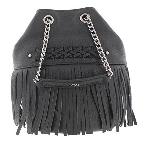 Lauren Ralph Lauren Womens Barton Eloise Leather Bucket Handbag Black - Ralph Online Outlet Lauren