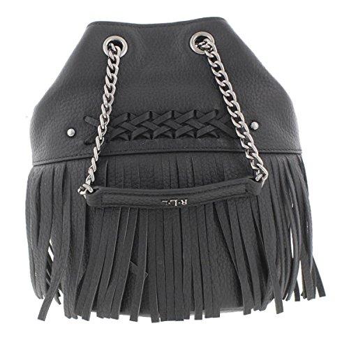 Lauren Ralph Lauren Womens Barton Eloise Leather Bucket Handbag Black - Ralph Lauren Outlet Sale