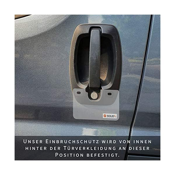 51UsXRa3TeL SOLIDfy FIAT Einbruchschutz Fahrertür und Hecktür