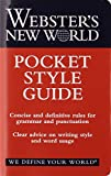 img - for Webster's New World Pocket Style Guide book / textbook / text book