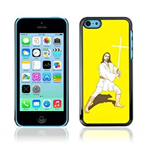 YOYOSHOP [Funny Kung Fu Jesus] Apple iPhone 5C Case