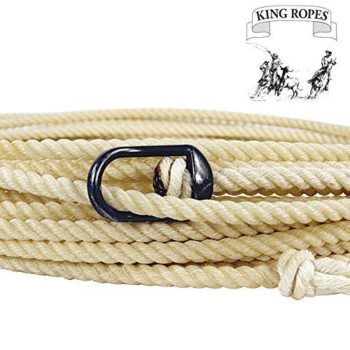 King Saddlery Inc Nylon Horse Rope/Brannaman Honda Ranch Rope