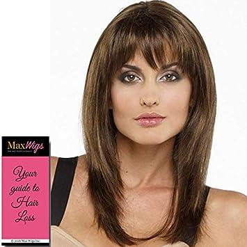 Amazon.com : Leyla Wig Color MOCHA FROST - Envy Wigs 11 ...