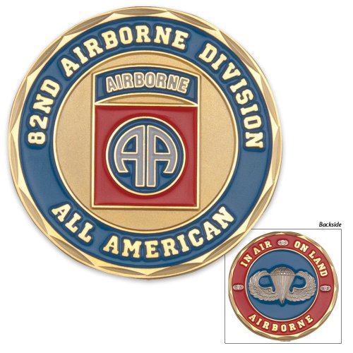 82nd Airborne Division Challenge Coin (Eagle Crest 2262)