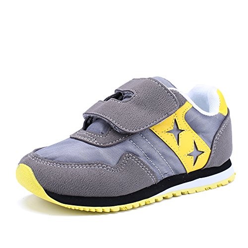 CHUI Boys Sneakers Girls Casual Breathable Basketball Kid Running Shoes (Toddler/Little Kid).CSK013Y1-26